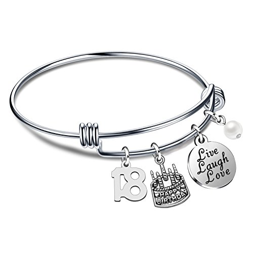 Jewelry & Accessories Considerate 2019 Pink With White Leather Braid Cord Silver Infinity Love Grandma Bracelet Charm Heart For Xmas Gift