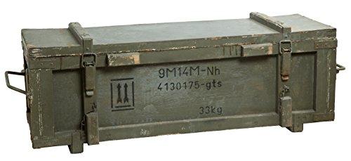 Baúl de Almacenamiento inspiración Militar - municiones