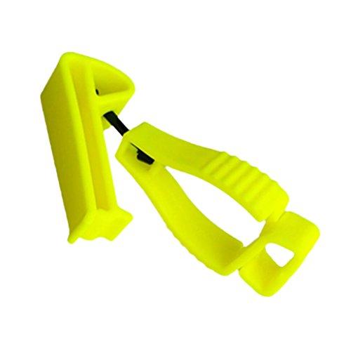 MagiDeal Handschuhclip Grabber Handschuhhalter in blau gelb oder schwarz - Gelb