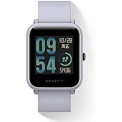 Original Xiaomi Huami Amazfit Bip Smart Reloj Bip GPS Glonass frecuencia cardíaca 45 días en espera (Gris)