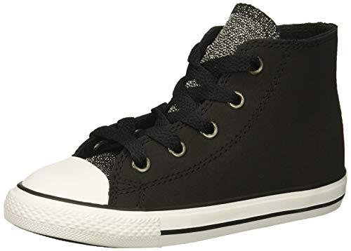 Converse Unisex Baby Chuck Taylor All Star Sneaker, Schwarz Black/White 001, 22 EU