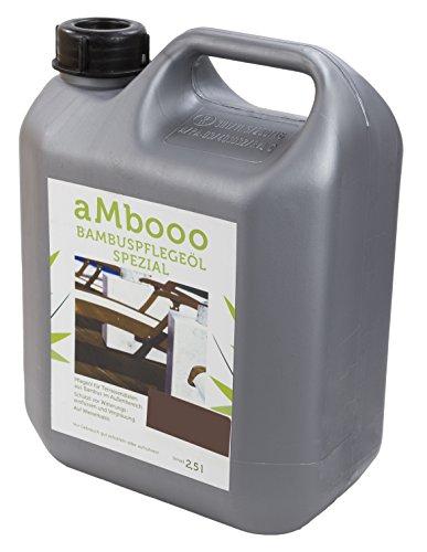 Pflegeöl für Bambus Terrassendielen - Espresso 2,5l