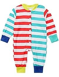 Hibote Navidad Conjunto Familiar Mono Pijamas Ropa Navidad Familia Pijamas Ropa de Dormir Ropa Familiar Ropa