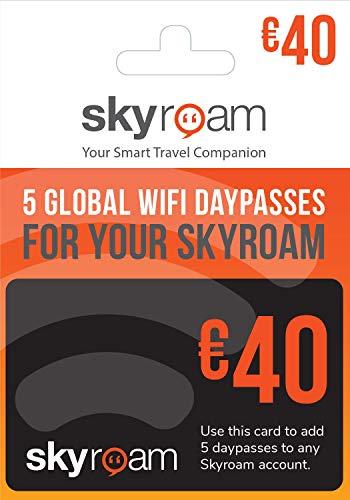 Skyroam Prepaid-Karte: 5 WLAN-Tagespässe