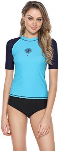 Eono Essentials Essentials Essentials donna's Rash Vest UPF 50 Rash Guard Swimsuit TopB07D6LMVKZParent | I Materiali Superiori  | Una Grande Varietà Di Merci  | Molte varietà  0da9b5