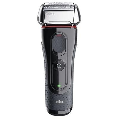 Braun Series 5 5050cc - shaver - red/black