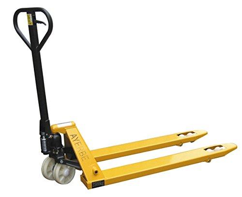 Ayerbe M110167 - Traspaleta 2500 kg ruedas de vulkollan