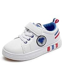 Shoes Primavera e Autunno leggero traspirante per Bambini, comode Scarpe Sportive Bianche e per il Tempo Libero, Scarpe antiscivolo resistenti all\'usura, adatto per