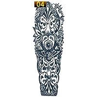Formulaone 1 UNIDS Etiqueta Engomada del Tatuaje del Brazo Completo Impermeable Tatuaje Temporal Manga Hombres Mujeres