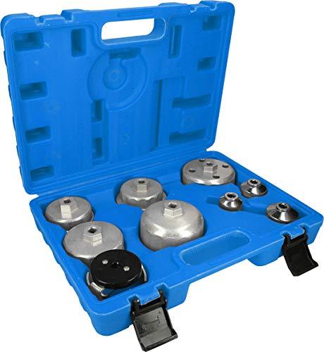 Preisvergleich Produktbild BRILLIANT TOOLS BT711000 9-TLG. Ölfilterschlüssel-Satz