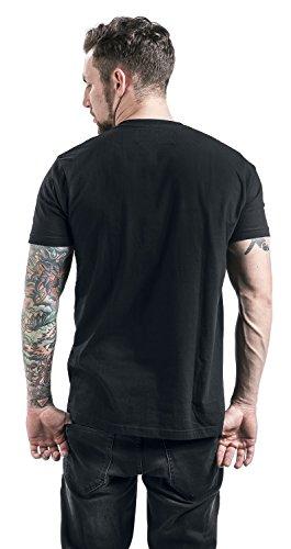 Star Wars Rogue One - Darth Vader Death Star T-Shirt Schwarz Schwarz