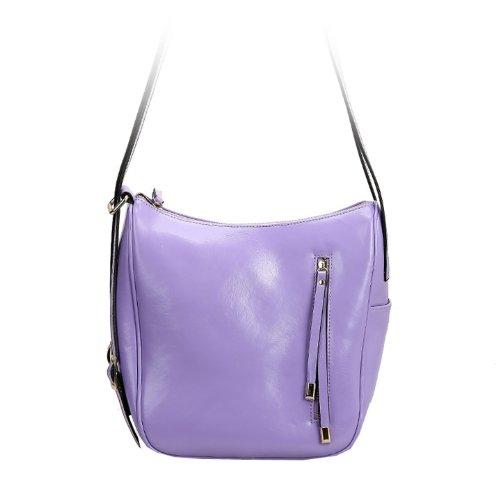 E-Girl Q0434 donna Borse a spalla,Borse a tracolla26x23x15 cm (B x H x T) Purple