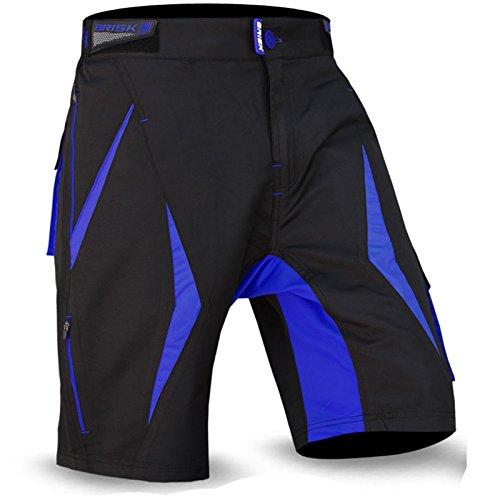 Brisk Bike Fahrad-Shorts MTB Radsport-Shorts Mountain Bike-Shorts aufgebauschte gepolsterte Shorts Professionelle Radfahrer Shorts Fahrradmode Fahrradkleidung warme Shorts.
