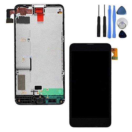 BisLinks® Black Berühren Bildschirm Digitizer LCD Anzeige Rahmen für Nokia Lumia 630 635
