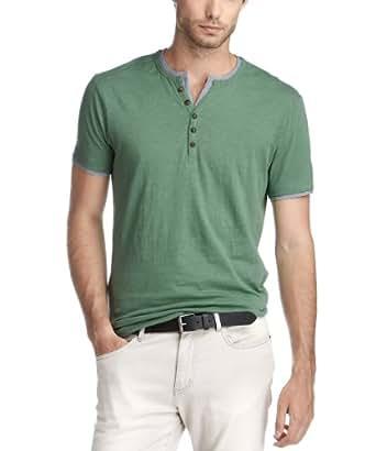 edc by ESPRIT Herren T-Shirt Slim Fit 073CC2K028, Gr. 50/52 (L), Grün (bright sage green 348)