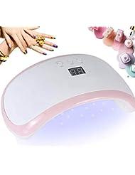 Nageltrockner, Beautlife LED Lampe 36W LED + UV Lampe für Gelnägel Tragbarer Nagellampe LCD Display mit Intelligenter Lampenfunktion 30/60/99s Timer