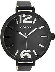 Oozoo Damen-Armbanduhr Schwarz C8024