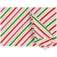 Kate Spade Candy Stripe Tischsets Candy Lenox