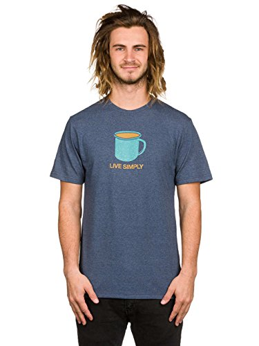 Patagonia Live Simply Mornings T-shirt prussian blue
