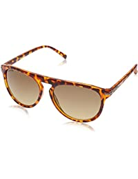 Fastrack UV Protected Aviator Men's Sunglasses (P345BR2|64|Brown Color