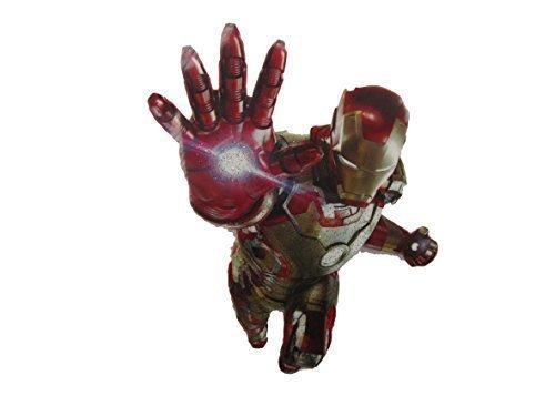 Kostüm Augenklappe Marvel Iron Man Superheld Weich Stil zum Aufbügeln Hitze Übertragung (Marvel Kostüme Uk)