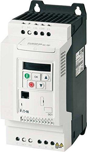 Eaton 169252 Frequenzumrichter, 1-/3-phasig 230 V, 10,5 A, 2,2 kW, EMV-Filter, Bremstransistor