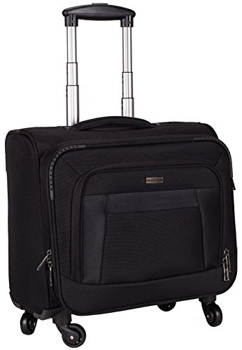 Cosmus Polyester 42Litres Black Laptop Roller Cases