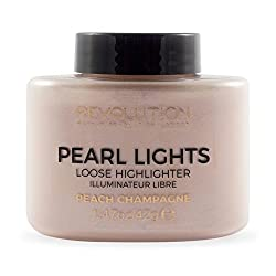 Makeup Revolution Pearl Lights Loose Highlighter, Peach - Champagne, 42g