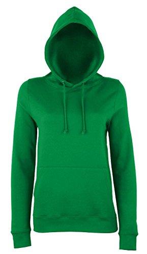 Frauen-College Style Hoodie - 25 Farben und 6 Größen erhältlich Ash