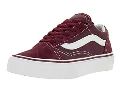 Vans K Old Skool, Unisex-Kinder Niedrige Sneaker, Rot - Bordeaux ...