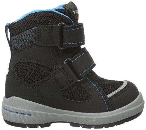 Viking Ondur, Chaussures Bateau Mixte Enfant Noir - Schwarz (Black/Charcoal 277)