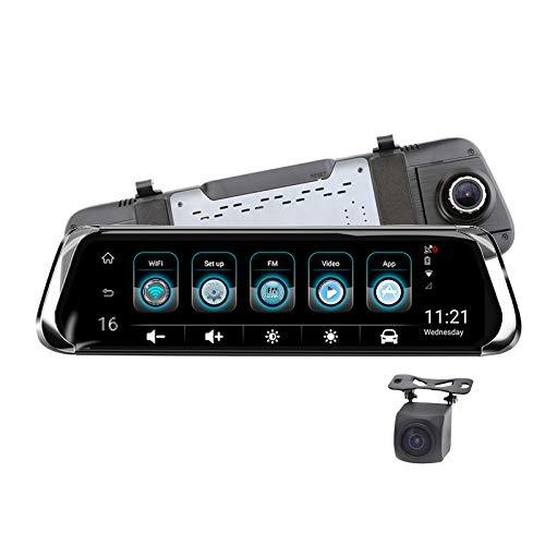 Full HD 1080P Dashcam Autokamera Video Recorder,Mit 4G,150° Weitwinkelobjektiv, 10 Zoll -Bildschirm,Bewegungserkennung, Loop-Aufnahme, Nachtsicht Und G-Sensor