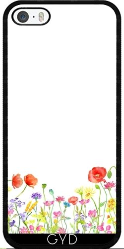 Coque pour Iphone SE - Prairie_fleurie Sauvage by UtArt Silicone