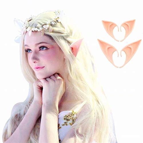 Madlst Cosplay Pixie Elfe weiche Spitzen Anime Party Kostüm Kostüm Kostüm Kostüm Halloween Elfe Vampir Fee Ohren 10 cm