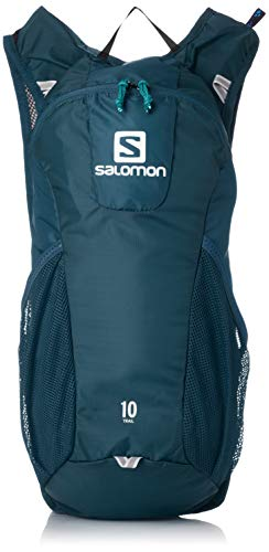 Salomon Running-/Wanderrucksack 10L, Trail 10, dunkelblau/hellblau (dark blue/ice blue) L40134200