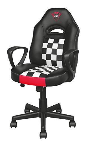 Trust Gaming GXT 702 Ryon - Silla para Gaming Junior, Color Negro