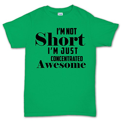 I'm Not Short Funny T-shirt HellgrŸn