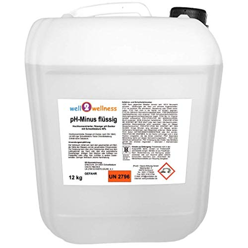 well2wellness pH Minus flüssig/pH Senker flüssig 12 kg