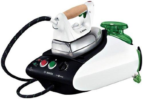 Bosch TDS2568 800W 0.8L Black,White steam ironing station - Steam Ironing Stations (800 W, 5 bar, 0.8 L, 110 g/min, Black, White, 1600 W)