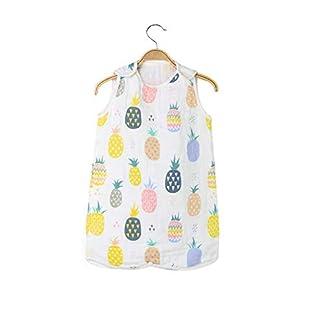 Holoras Saco de Dormir de Verano para bebé 0.5 TOG, 0-6 Meses