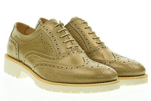NERO GIARDINI scarpe donna inglesine basse P717191D/406 Beige