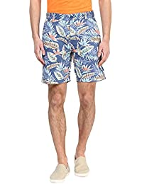 Urban Eagle By Pantaloons Men's Cotton Shorts - B01E5MQCW8