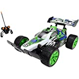 Dickie Toys RC Dirt Slammer, RTR 1:16 Electric engine Buggy - Radio-Controlled (RC) land vehicles (RTR, 1:16, Ready-to-Run (RTR), Electric engine, Buggy, 2-wheel drive (2WD), Negro, Azul, Verde, Color blanco)