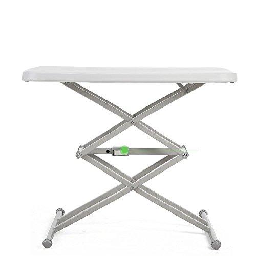 Portable Lift Schreibtisch Quadratischen Tisch Computer Schreibtisch Im Freien Faltenden Esstisch (Weiß Executive-schreibtisch)