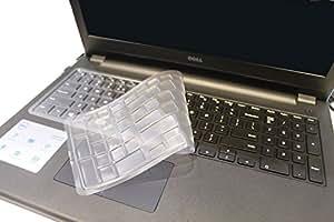 Version US TPU couverture de clavier de peau protecteur Compatible pour Dell 15C 15MR 15 m 3000 Series 15MD Inspiron 15 & Série 5000 15L, 15LR, 1528BB comme 15-3541 15-3542 15-5547 15CR 5748,5545, Vostro 15-3549R Vostro 15-3546R, M5545R M3541R nspiron 15CR - 4108B, Ins15CR - 4528L/B, Ins15CR - 1518L, 15CR - 1308B, Ins15CR - 1528L, Ins15CR - 1328B, Inspiron 15MR - 3728L, 15MR - 1328L, Ins15MR - 1528L Ins15LR - 1328B/1308B, Ins15MR - 4528S/L, Ins15MR - 4748T/S, - 15MR 4629S/4328S, Inspiron 15MR - 4648L/S