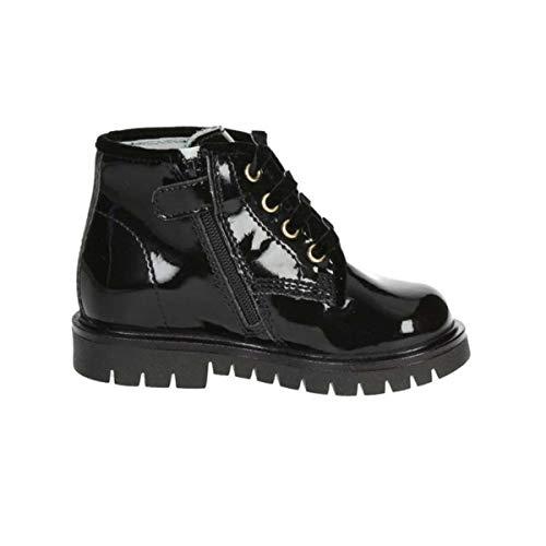 Nero Giardini Chaussures bébé Premiers Pas en Cuir Verni Noir A820692F / 100