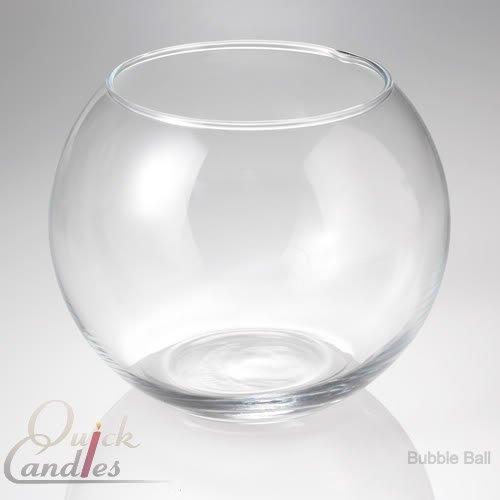 Eastland ® Bubble Kugelvase 20.32 cm, 2 Stück