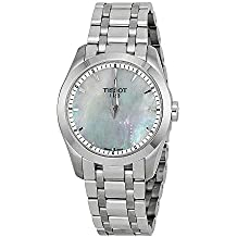 49422a6bc67 Tissot Reloj Analógico para Mujer de Cuarzo con Correa en Acero Inoxidable  T035.246.11.