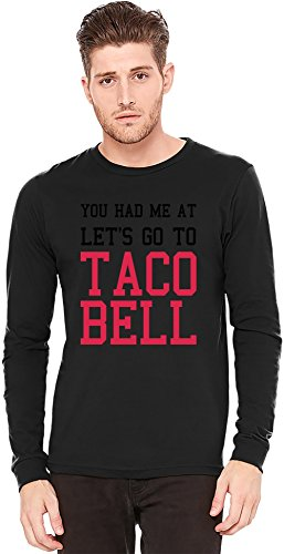 lets-go-to-taco-bell-funny-slogan-t-shirt-a-manches-longues-long-sleeve-t-shirt-100-preshrunk-jersey