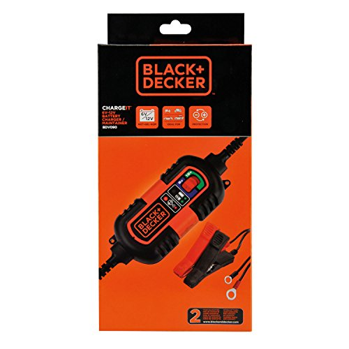BLACK + DECKER BD 0690103 BDV090 Battery Charging and Charging Maintainer, 6...